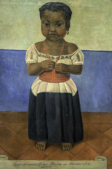 'Girl with Coral Necklace' by Diego Rivera (Greatest Paka Photography) Tags: diegorivera mexicanart art artist gallery painting portrait delfina sfmoma museum indiangirl necklace sanfrancisco modernart mural
