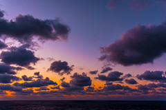 Dark clouds (malc1702) Tags: darkclouds clouds ocean sky sunset sundown nature orangeglow nikond7100 nikkor18140mm travel cruise fantasticnature