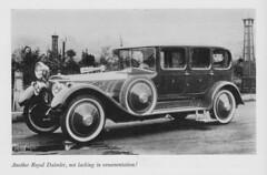 Ornate Royal Daimler (1916) - Daimler Tradition (Jones) (AndyBrii) Tags: daimler tradition 1972 brianjones