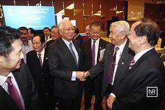 Lawatan kerja ke Kuantan & Pekan. (Najib Razak) Tags: dan malaysia pm cina kuantan ke70 agung dewan persatuan perniagaan gabungan tahunan najibrazak perindustrian acccim