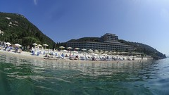 Nissaki beach (ДмитрийЛаврешов) Tags: sea hotel greece corfu agni kerkira nissaki nissakibeachhotel nissakibeach kentroma