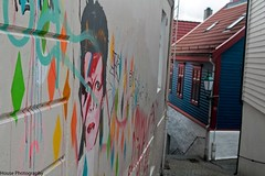 David Bowie ({House} Photography) Tags: travel cruise music david norway canon graffiti bowie europe norwegian po bergen fjords azura 70d housephotography timothyhouse