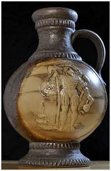 218-366 Dumler & Breiden German Pottery (Aged Desperado) Tags: dumler breiden german pottery 336 50mm 50mm18 d5000 nikon nikkor nikonflickraward still stillife vase