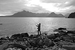 treasure (plot19) Tags: isle island isles skye hebrides scotland scotish fishing people jake jacob family son love light landscape britain british uk plot19 photography land water rod rocks sony