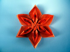 Tessellated Flower - David Martnez (Rui.Roda) Tags: origami papiroflexia papierfalten teselado teselada tecelada tecelagem flor fleur tessellated flower david martnez