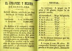 """""""Gua completa del viajero en Barcelona"""" (1866) (Museo del Romanticismo) Tags: barcelona turismo xix anuncios siglo viajero gua romanticismo"""