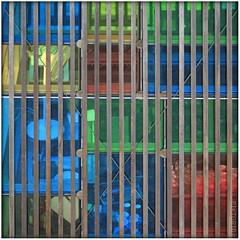coloured glass box (PIKTORIO) Tags: wood berlin glass architecture germany transparency kiosk transparent piktorio