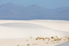 White Sands National Monument (Alex E. Proimos) Tags: park people white monument set movie landscape sand with dunes scenic filled national sands striking gypsum rare extremely featuring