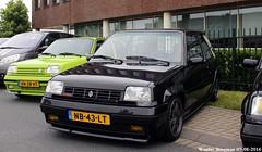 Renault 5 GT Turbo 1985 (XBXG) Tags: nb43lt renault 5 gt turbo 1985 renault5 gtt r5 supercinq franse auto dag fad16 visscher culemborg nederland holland netherlands paysbas old classic french car automobile voiture ancienne franaise france frankrijk black noir zwart worldcars