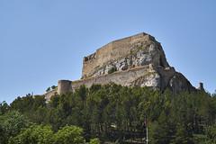Castillo de Morella 1 (CarlosJ.R) Tags: espaa castillo castelln morella murallas