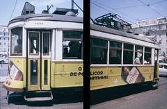 LISBON TRAM (eltercerojo) Tags: lisbon tram tranvia tramvia portugal olympus pen ee3 half format 35mm expired expiredfilm olympuspen agfa ctprecisa analog ishootfilm