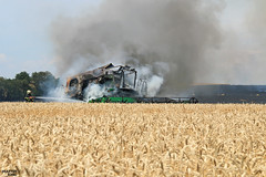 Be Careful This Harvest Season (martin_king.photo) Tags: weather work season fire this photo king martin wheat harvest tschechische republik machinery fireman machines agriculture firefighting deere johndeere becareful combineharvester powerfull hillmaster harvestseason infire martinkingphoto sts9880icombine