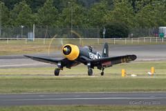 Vought F4U Corsair-4 (Clubber_Lang) Tags: airshow corsair farnborough f4u vought fia2016