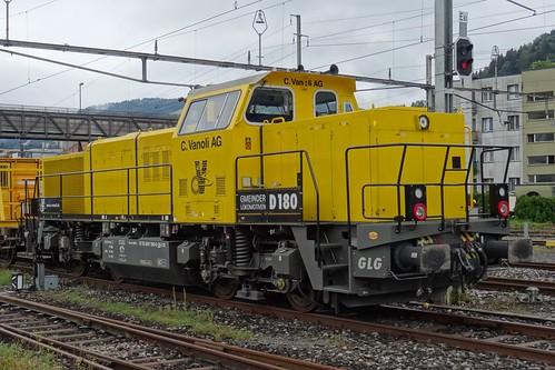 Vanoli Diesellocomotive type Bm 847 N°853.