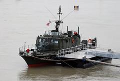"AM-32 ""Dunafldvr"" (Pter_kekora.blogspot.com) Tags: nikon d60 70300mmvr budapest hungary danube patrolboat river boat ship minesweeper nestinclass hungariandefenceforces 2016 july summer redbullairrace rbar"
