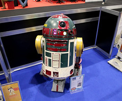 Droid Exhibition from R2 Builders - 501st @ Star Wars Celebration Europe 3 (AdinaZed) Tags: star wars celebration europe three 3 ce3 501 501st ukg uk garrison droid droids