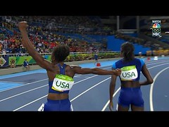 U.S. women's 4x100 relay team sprints to gold medal (Download Youtube Videos Online) Tags: us womens 4x100 relay team sprints gold medal