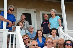 Family Photo At The Cottage (Joe Shlabotnik) Tags: katem davidm higginsbeach diego july2016 sue johnm nancy phyllis 2016 davidb verne judyb margaret annm maine afsdxvrzoomnikkor18105mmf3556ged