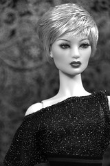 Sung in Black & White (ShellyS) Tags: numina dollcis sung dolls