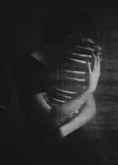(corpusvertebrae) Tags: selfportrait anxiety darkness dark woman bw emotion emptiness fear demons death feeling mentalhealth self dreams treatment sleep grave girl cure darknature morgue nature body skinny obscure solitude nightmares disorder lights vintage skin old bones monochrome fog portrait p blackandwhite