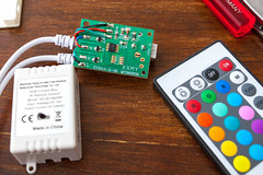 Cheap Infrared RGB LED Strip Controller (phreekz.chmee) Tags: rgb led controller smd5050 sot23 infrared raspberry rpi lirc ir