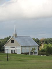 Texas Country Glass Chapel (maorlando - God keeps me as I lean on Him!!) Tags: country chapel church houseofworship sunday glass countrychapel texas morning