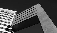 Weena 200 gebouw, Rotterdam (Lucin Reyns) Tags: pentaxk1 pentax rotterdam weena200gebouw bw zwartwit architectuur