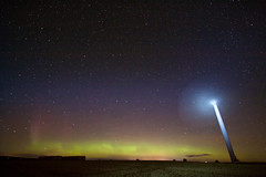 Solar Wind (Kieran Campbell) Tags: auchterless aurora borealis longexposure windfarm fyvie scotland unitedkingdom