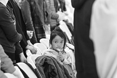 Enjoy Her Little World ( aikawake) Tags: base littlegirl world self candy taste eat kid child cute church worship enjoy chinese childhood memory pretty        blackwhite blackandwhite bnw portrait awesome beauty bw emotion expression girl grace