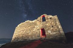 A prayer to the stars (II) (eztopo79) Tags: ermita hermitage night nocturna stars milky way via lactea lactia church ademuz valencia canon 70d sigma 1020 metz flash noctgrafo noctografo