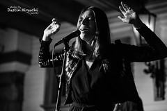 Molly Moore 09/15/2016 #1 (jus10h) Tags: mollymoore novacancy vancancy hollywood losangeles la california live music concert gig show release album cd party event performance black white photography nikon d610 2016 justinhiguchi photographer birthday