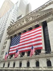 (_Fidelio_) Tags: nyse flag america iphone7plus wallst newyork