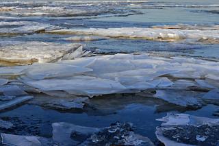 Sea ice / Merijää. Spring. Finland