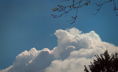 Another Bristol Sky (MissyPenny) Tags: blue sky white clouds buckscounty southeasternpa bristolpennsylvania
