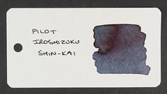 Pilot Iroshizuku Shin-Kai - Word Card