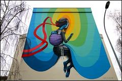 Seth (Chrixcel) Tags: streetart vortex graffiti seth couleurs tag graff mur rennes teenagekicks passemuraille globepainter