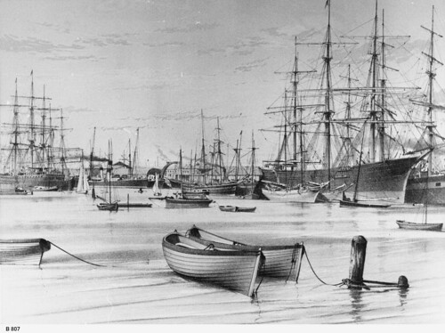 Sketch of Port River. - Photograph courtesy of the State Library of South Australia