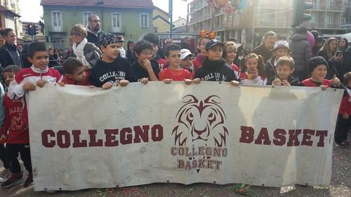 Collegno Basket in piazza per il Carnevale!