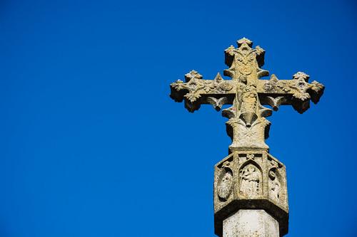 L'altra creu de terme gòtica de Verdú