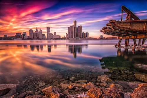 """Detroit Pastel Sunset • <a style=""""font-size:0.8em;"""" href=""""http://www.flickr.com/photos/76866446@N07/16805823029/"""" target=""""_blank"""">View on Flickr</a>"""