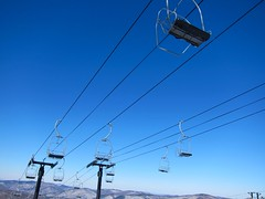 Snowshed Double Double Chairlift (Joe Shlabotnik) Tags: vermont skiing killington chairlift faved 2015 60225mm march2015