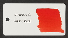 Diamine Poppy Red - Word Card