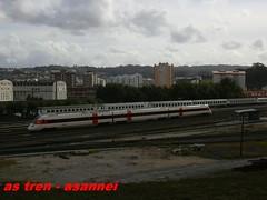 ESTACION DE A CORUÑA SAN CIRSTOBAL (asannei) Tags: train tren rail railway estacion ferrocarril renfe adif ffcc 598 automotordiesel