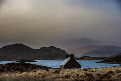 Loch Stack Bothy (Andy Allan) Tags: scotland highlands ruin scottish stack loch sutherland bothy scottishhighlands scottishlandscape scottishscenery scotchmist scottishloch lochstack