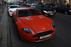Russia (Yaroslavl) - Aston Martin V8 Vantage N400 (PrincepsLS) Tags: martin russia plate license russian dsseldorf v8 aston spotting yaroslavl vantage 76 germans oblast n400 yaroslavskaya