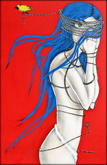 Curitiba, Paran, Brasil - 'Menina do Vu' do Michael Devis (Memorial da Cidade) 01 (Markus Lske) Tags: brasil brazil brasilien parana paran curitiba memorialdacidade memorial michaeldevis lolita girl menina frau mdchen chica ragazza femme lueske lske kunst art arte maedchen woman mujer mulher rapariga fille