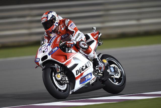 Ducati Desmosedici GP15 at Qatar MotoGP