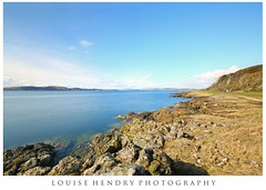 Beautiful Ayrshire Coastline - Portencross (Lou_Viva) Tags: blue sea summer water beautiful canon landscape scotland spring glasgow coastline paisley rugged ayrshire 1635 portencross