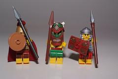 SPEARMAN (kingkong21) Tags: soldier lego warrior shield spear spearman