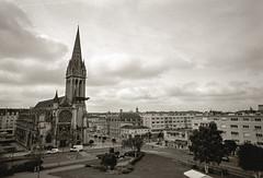 The City Of Caen (The Nexus) Tags: travel vacation bw film spring kodak trix caen 2012 leicam7 xtol11 zeissbiogon21mmf28